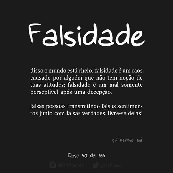 Aah Essas Falsas Pessoas Frases Para Pessoa Falsa Frases De