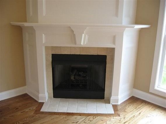 thrifty decor chick a fireplace redo yes i hate that big awkward space above our corner fireplace diy inspirations pinterest fireplace inserts - Corner Fireplace Design Ideas
