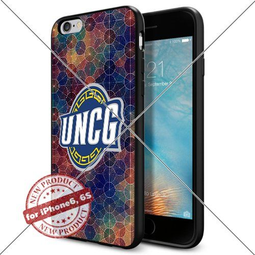 WADE CASE The University of North Carolina at Greensboro Logo NCAA Cool Apple iPhone6 6S Case #1353 Black Smartphone Case Cover Collector TPU Rubber [Circle] WADE CASE http://www.amazon.com/dp/B017J7EPDO/ref=cm_sw_r_pi_dp_oMrexb1THAY94