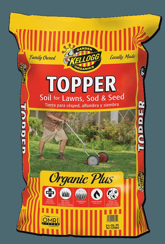 Kellogg Topper Soil for Lawns, Sod & Seed Lawn soil