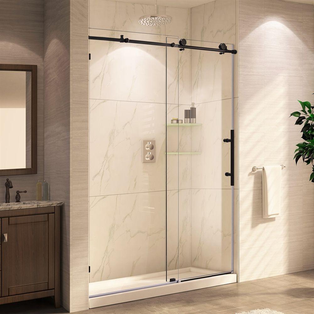 Shop Wet Republic CRSBS0362-ORB-TUB MOCHA LUX Shower Door at ATG ...