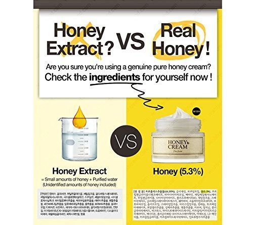 I'm From Honey Cream 50ml, Real Honey 5.3%, Moisturizer, Nourishing