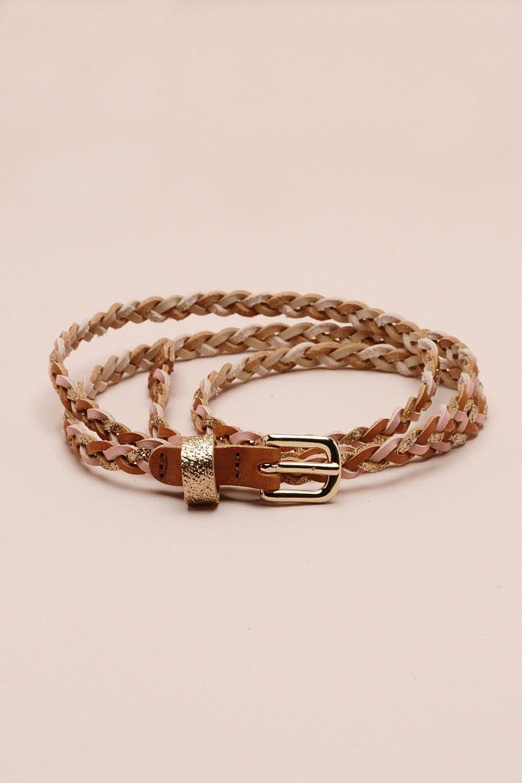 b5c7d596517d ceinture Travel multico 100% cuir - paillette - autres accessoires - Des  Petits Hauts