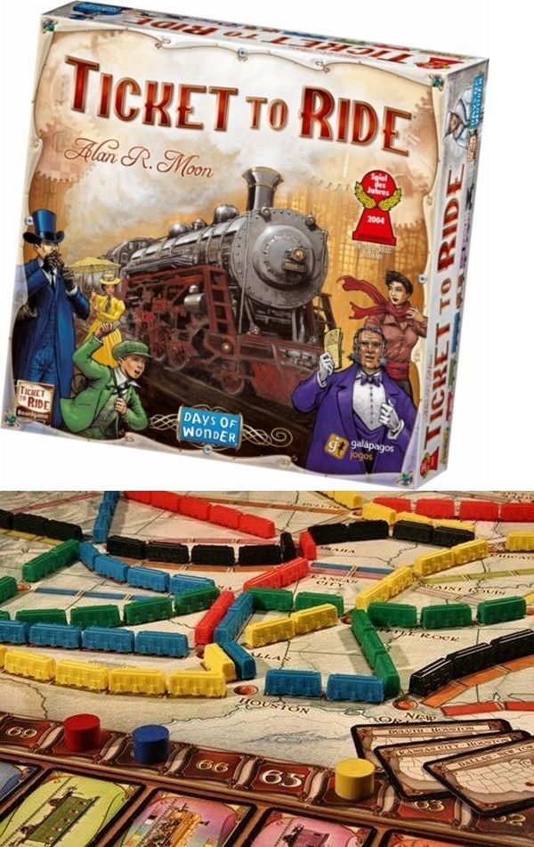 Contemporary Manufacture 180349 Ticket To Ride Brand