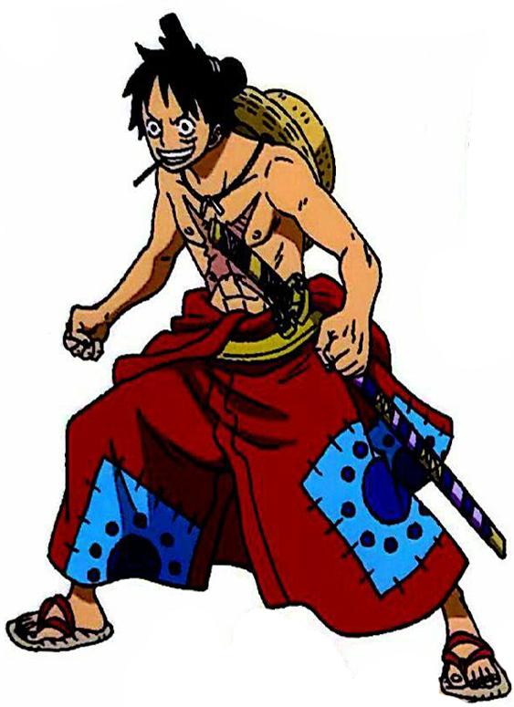 Monkey D Luffy Wano 2