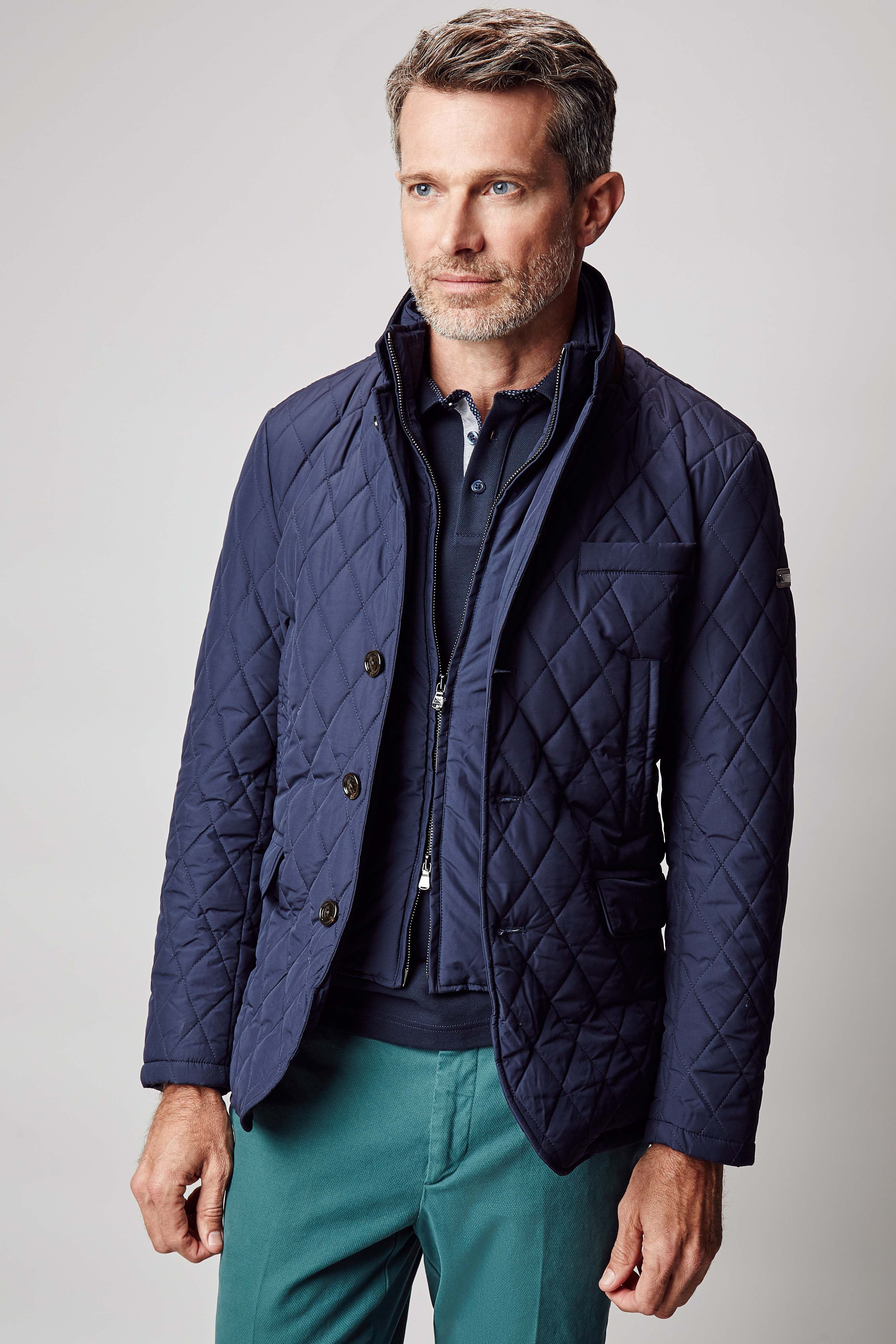 Quilted Blazer - Hackett London - Collection - Men | Hackett ... : burberry brit fairstead quilted jacket - Adamdwight.com