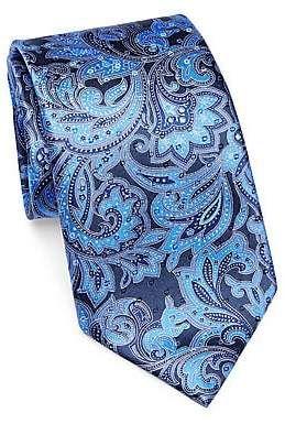 520c505c Ermenegildo Zegna Men's Silk Paisley Tie | Products in 2019 ...
