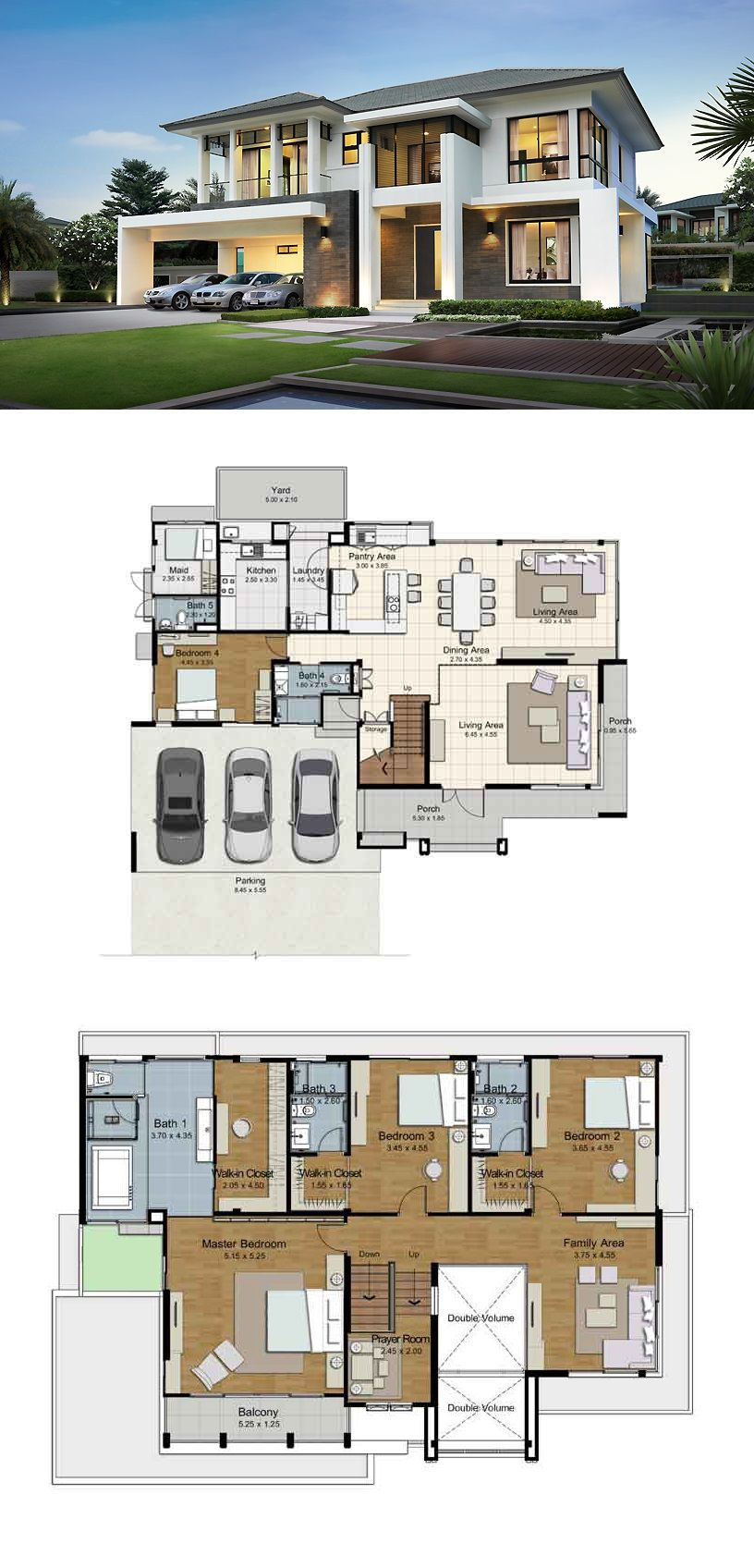 Land and houses home layout pinterest house for Modern luxury floor plans