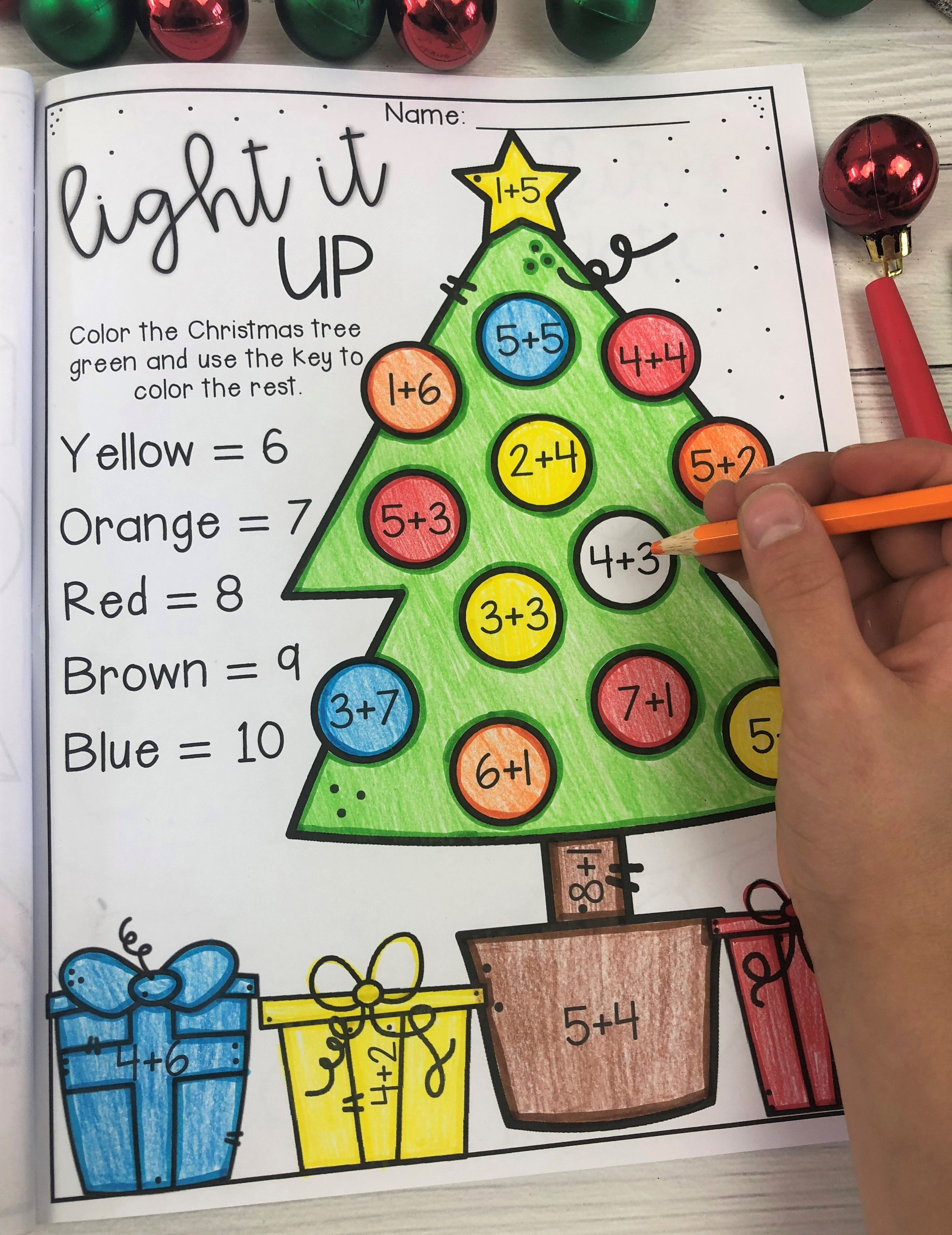 Christmas Worksheet Booklet