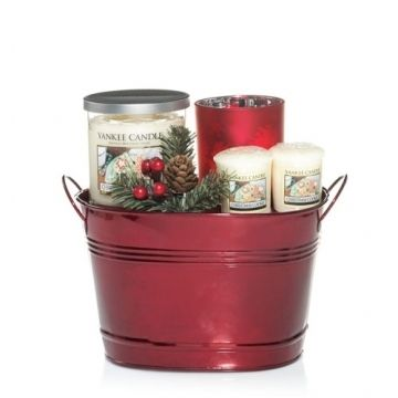 Yankee Candle Gift Basket