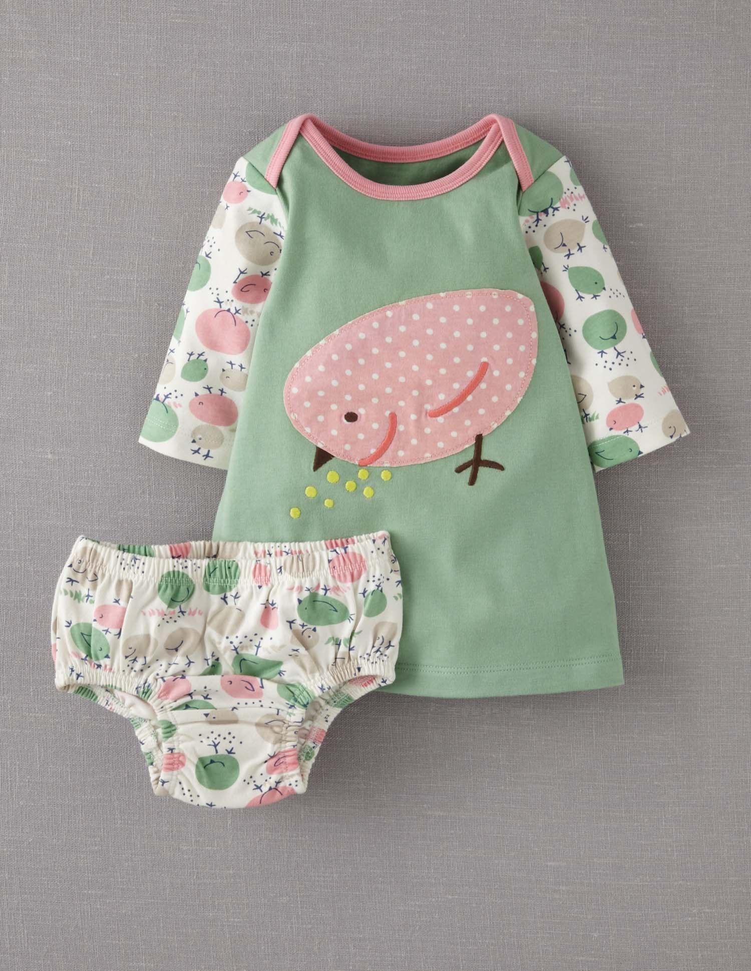 Jerseykleid mit applikation 73086 kleider bei boden for Baby boden mode