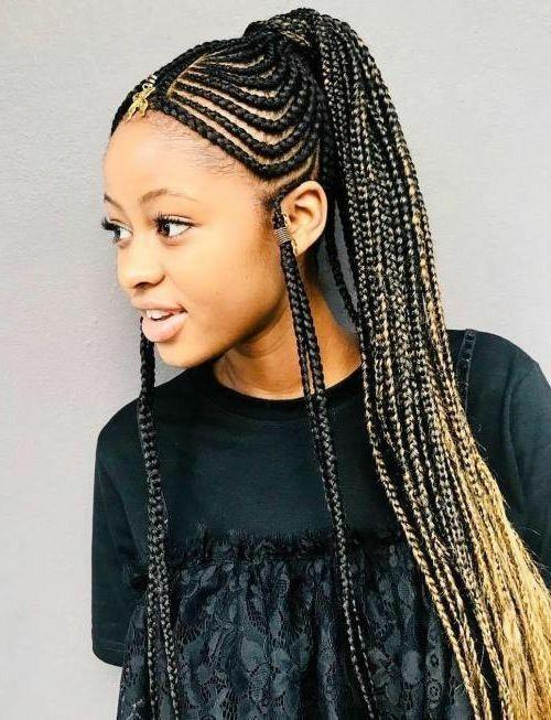 Modern Hairstyles for African American Birthday Ladies | Hair styles, Cool braid hairstyles ...