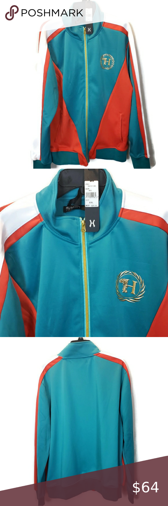Hudson Outerwear Size Men S 2x Full Zipjacket Clothes Design Fashion Hooded Jacket Sweatshirts [ 1740 x 580 Pixel ]