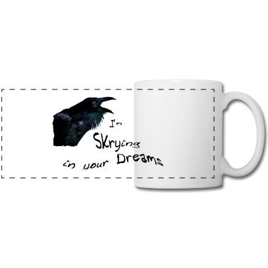 Raven-Spirit is there to show you your future. Do you dare to look in his eyes? #raven #dreams #mystery #cup