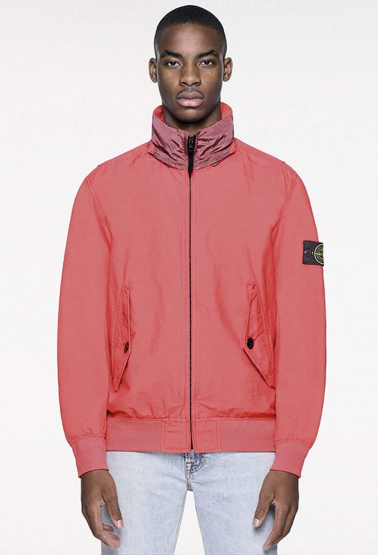 Stone Island SSu Light Cotton Nylon TwillNylon