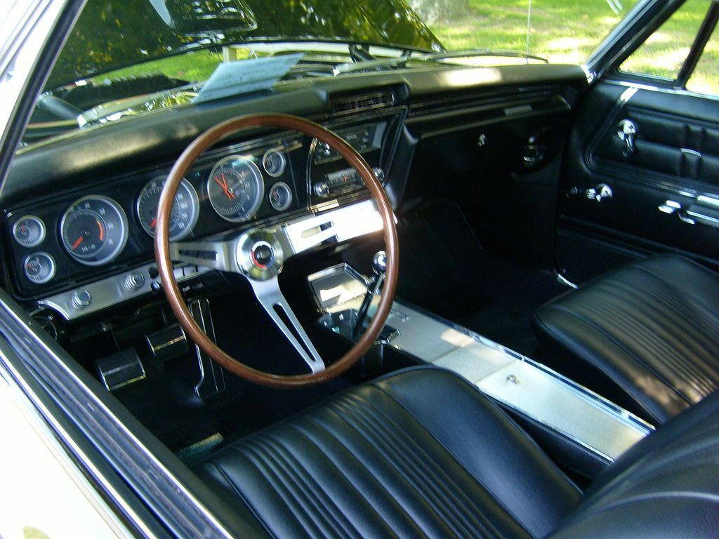 1967 Chevy Impala 4 Door Black Interior