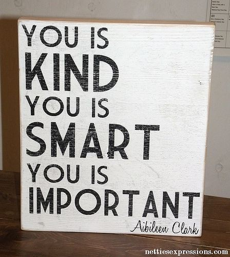 Wood Sign - You is kind - Netties Expressions
