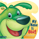 BOZ the Green Bear Next Door-Hardcover