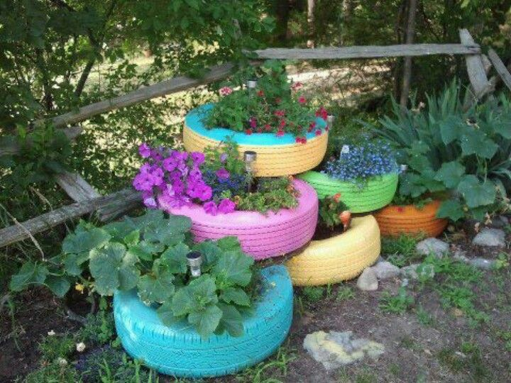 Cute idea. Painted tires