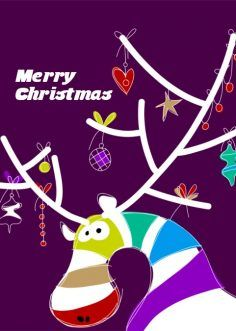 Christmas Card, size 148 x 210 mm (With images ...