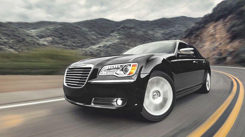 2014 Chrysler 300 Luxury Sedan with Available AllWheel