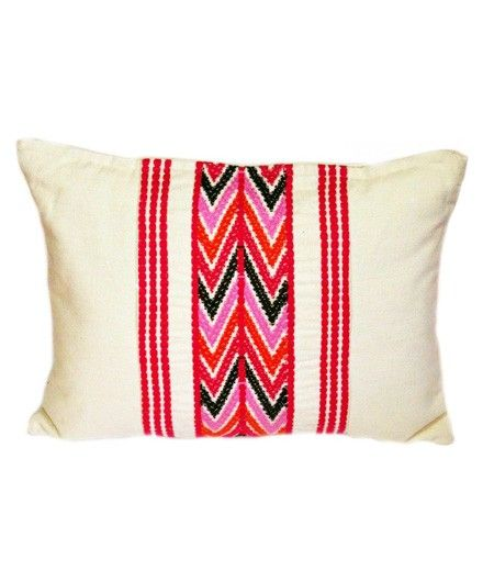 Comalapa Brocade Pillow Pink