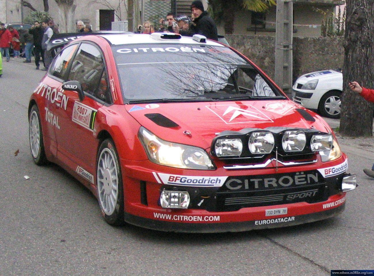 Citroen C4 2007 Wrc Automovilismo Rally Verdadera Categoria