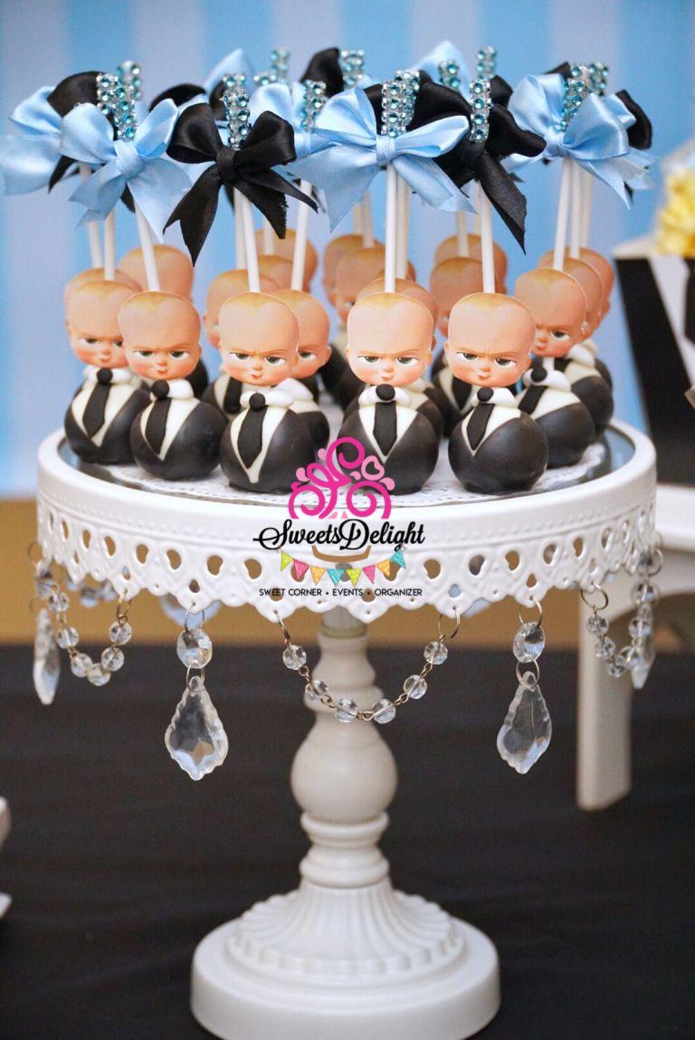 Boss Baby Dessert Table Sweets Delight Boss Baby Boss