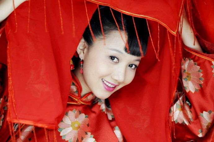 Chinese Lady in Traditional Costume