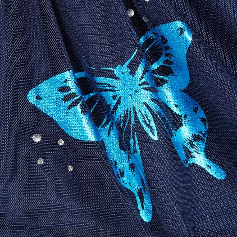 Dress change images with butterflies