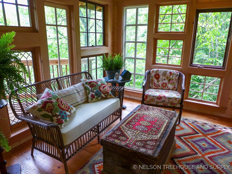 bird barn treehouse pete nelson - Treehouse Masters Interior