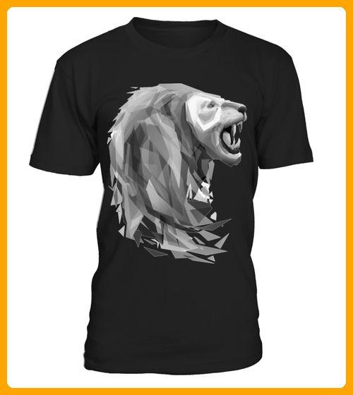 tshirt Geometric Lion - Affen shirts (*Partner-Link)