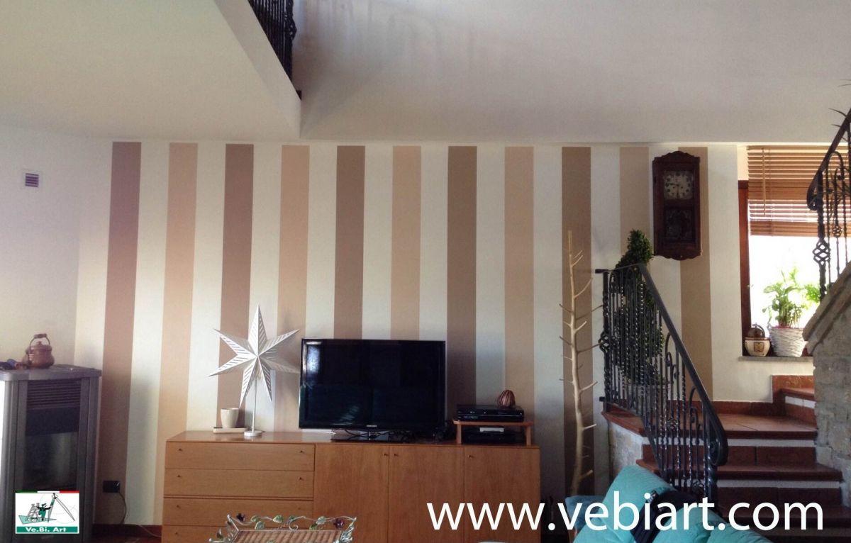 Pareti A Righe Blu : Dipingere pareti camera colore pareti with dipingere pareti