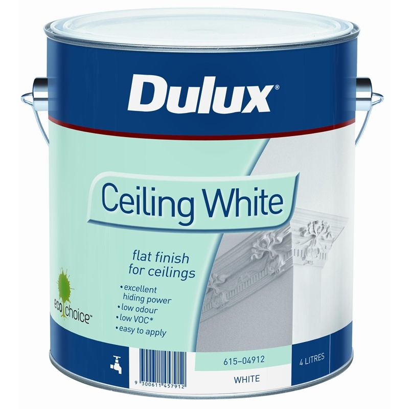 white ceiling painthouse AN White Ceiling Paint 4L 4790  Home Renovation