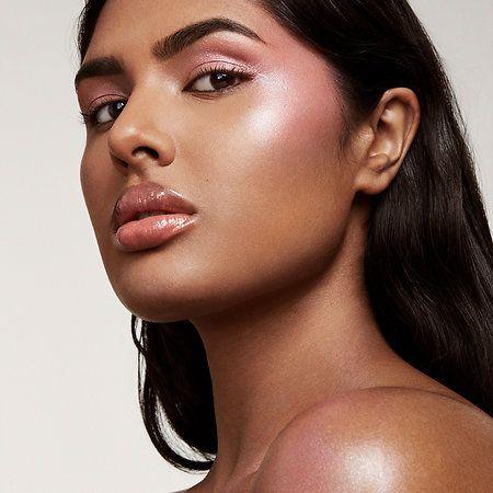 killawatt freestyle highlighter  beauty oily hair pink lips