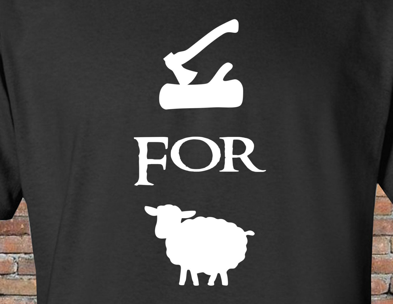 a63f87ff3 Wood For Sheep - Funny Shirt - Inspired by Settlers of Catan Game - Mens  Womens - Gift - Christmas by FireAntTees on Etsy
