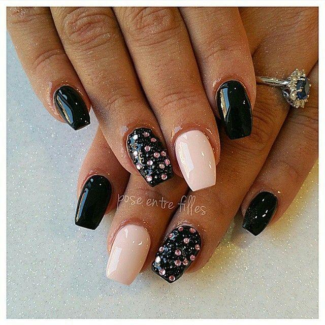 #nails #nail #fashion #style #cute #beauty #beautiful #pretty #girls #stylish #styles #gliter #nailart #art #opi  #essie #unhas #preto #love #shiny #polish #nailpolish #nailswag #nude #White #polish #diamonds #tourcoing