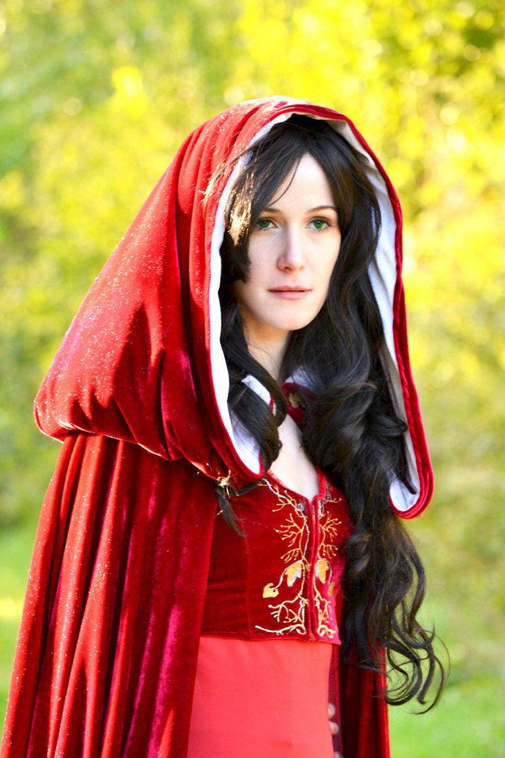 red cloak morgana merlin bbc~oelfe on deviantart | halloween