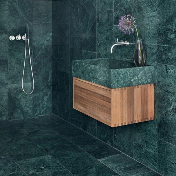 Verde Guatemala 30,5x61 cm | Badeværelse, Huse, Rækkehus