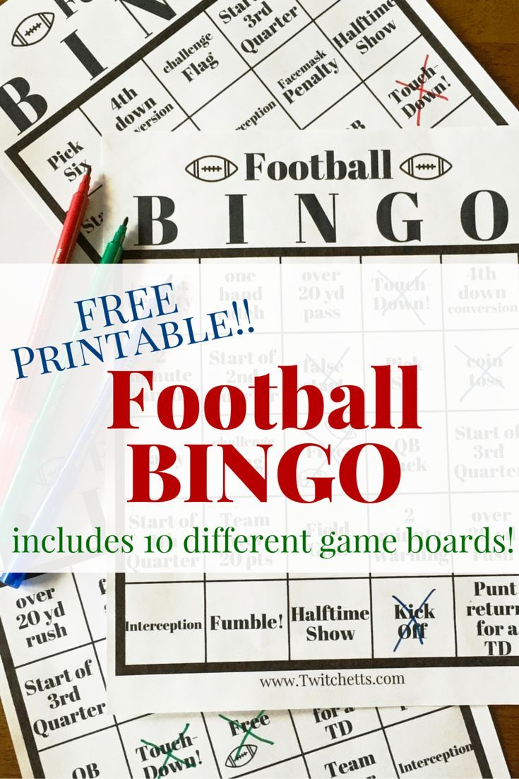 photo relating to Free Printable Football Bingo Cards named Soccer Bingo - Free of charge Printable Recreation Message boards KBN Artwork