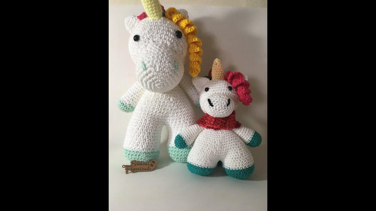 Amigurumi Unicornio Tutorial : Unicornio tejido a crochet amigurumi unicorn crochet