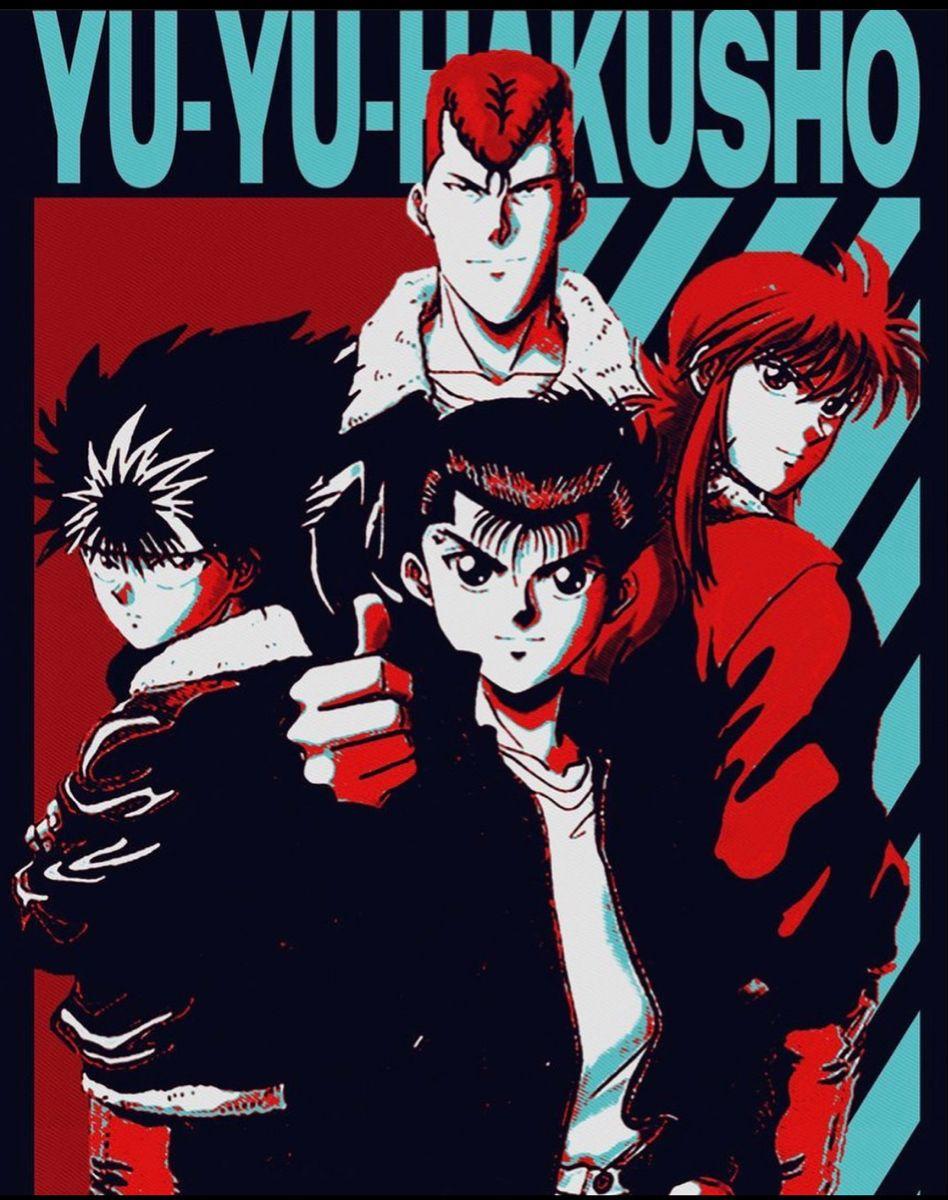 yuyu hakusho poster prints poster