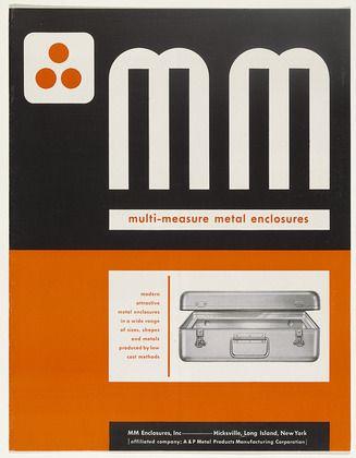 MM Multi-Measure Metal Enclosures by  Ladislav Sutnar