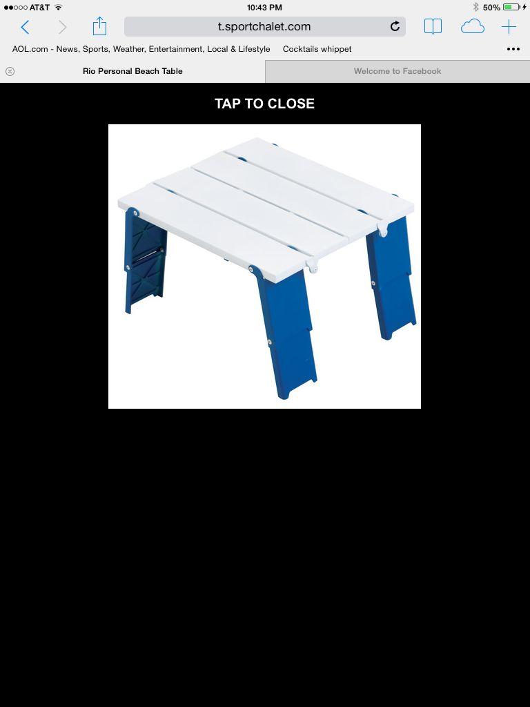 best beach fold up table i got mine at cvs in destin for 9 99