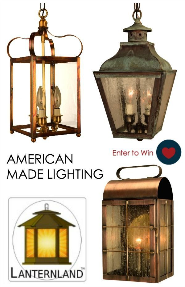 Giveaway american made lighting by lanternland outdoor lighting giveaway american made lighting by lanternland usa love list aloadofball Choice Image