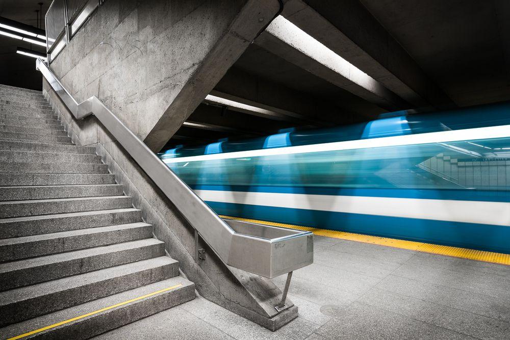 Langelier Montreal Arthousish Pinterest - Vibrant photos of international subways capture their unappreciated beauty
