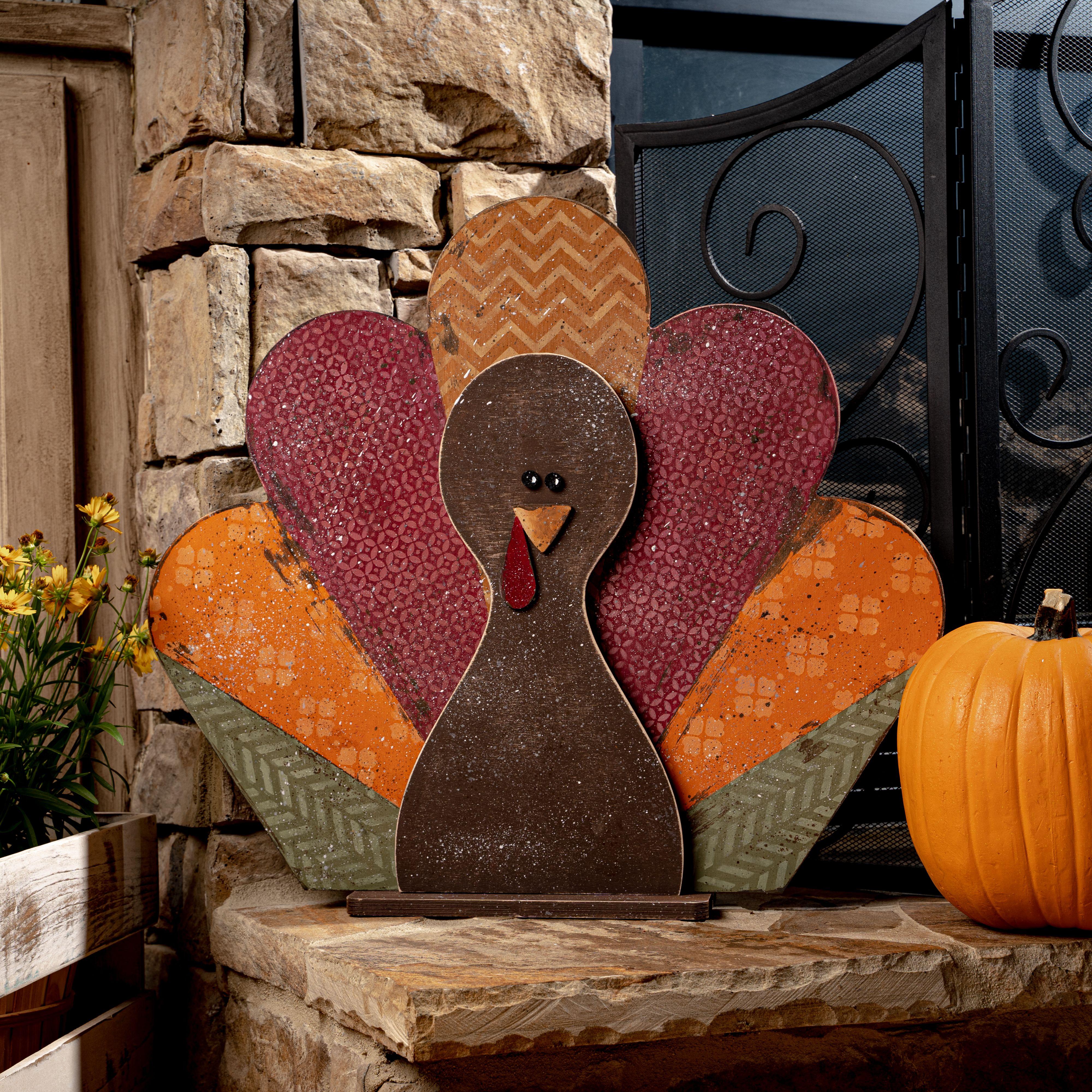 Fall Crafts, Decoupage Wood