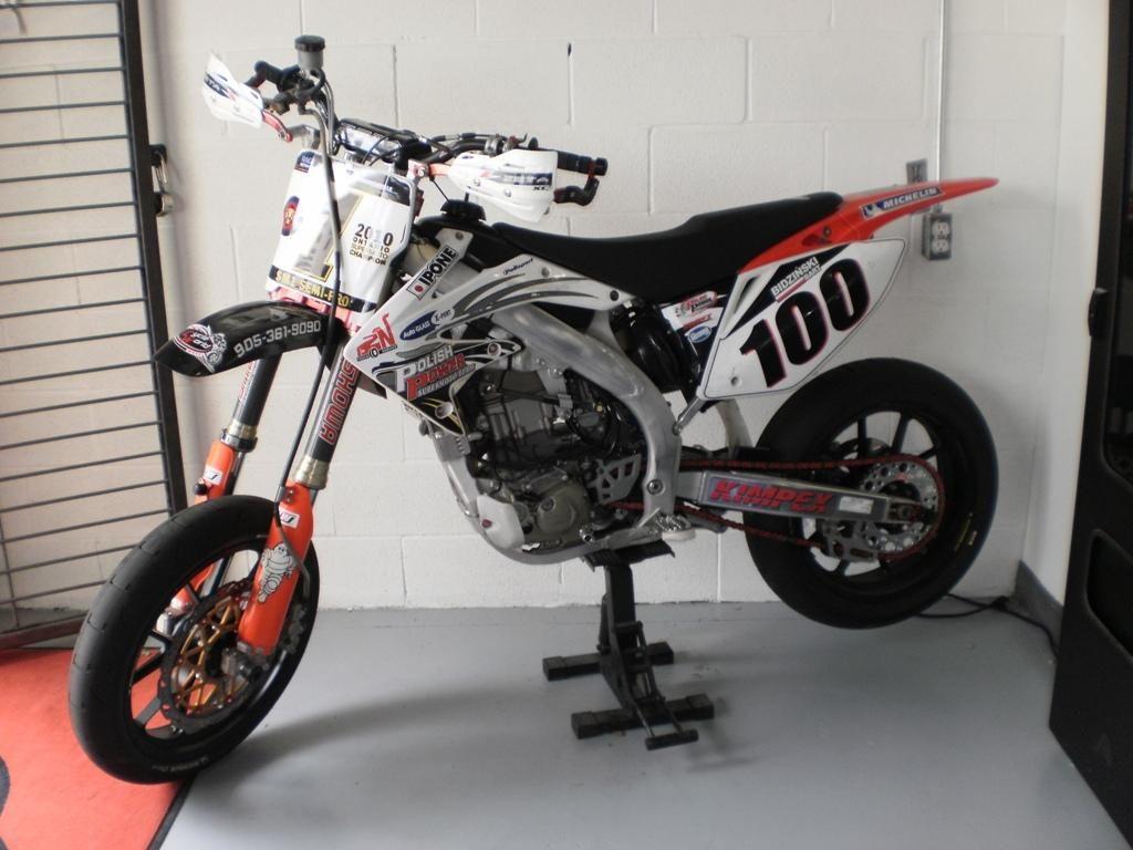 2007 Honda CRF 490 Supermoto