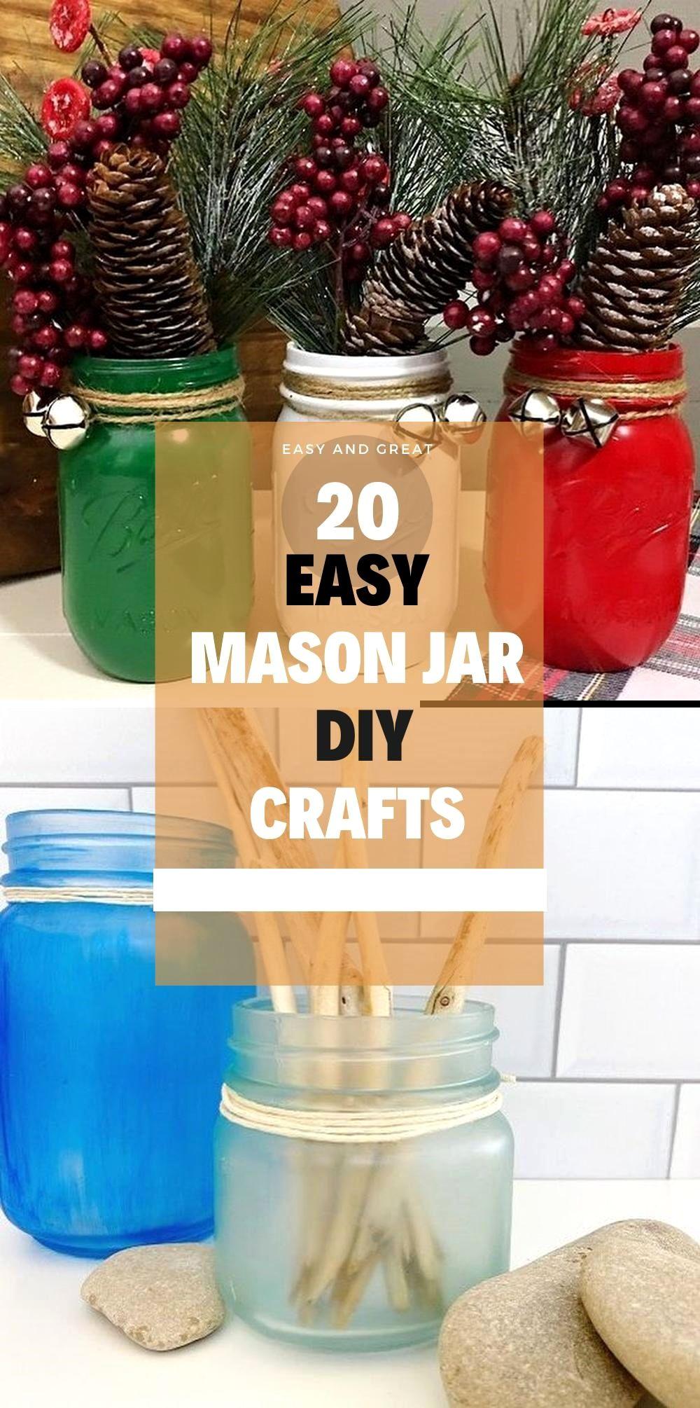 Photo of Easy & Creative DIY Mason Jar crafts