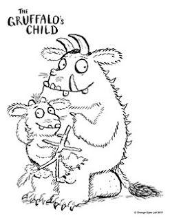 Kleurplaat Gruffalo En Kind Party Pinterest Children